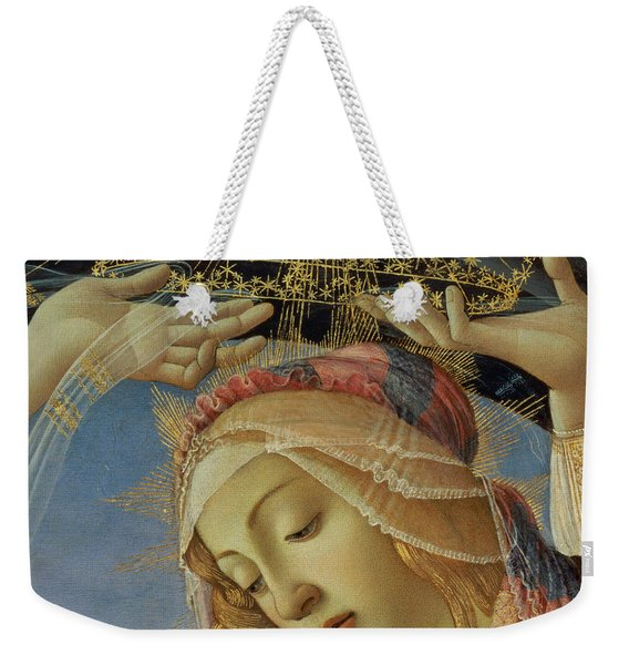 The Madonna Of The Magnificat Weekender Tote Bag