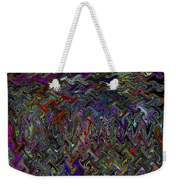 The Making Of A Soul - Color Melt - Creamy Dreamy Color Inside Me  Weekender Tote Bag