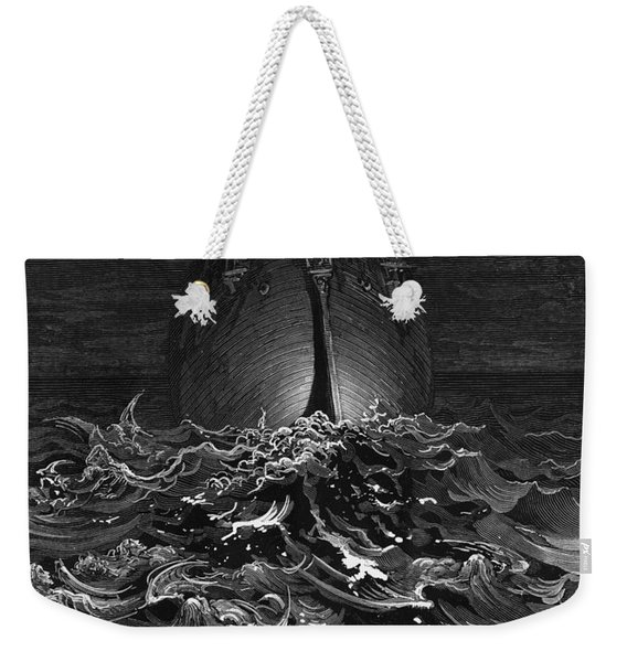 The Mariner Gazes On The Ocean And Laments His Survival While All His Fellow Sailors Have Died Weekender Tote Bag