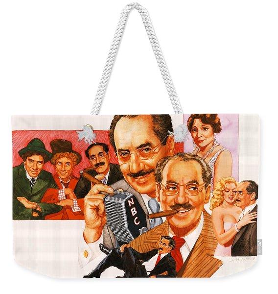 The Marx Brothers Weekender Tote Bag