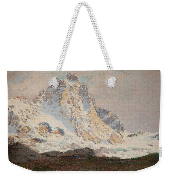 The Matterhorn, 1910 Weekender Tote Bag