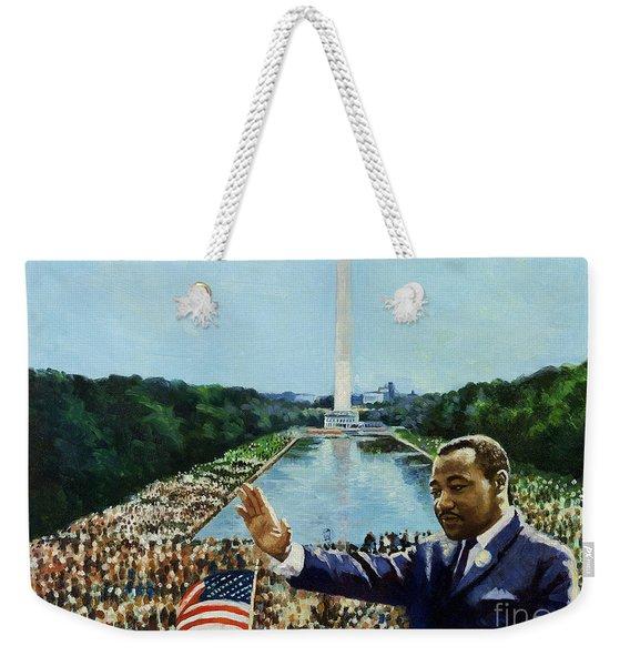 The Memorial Speech Weekender Tote Bag