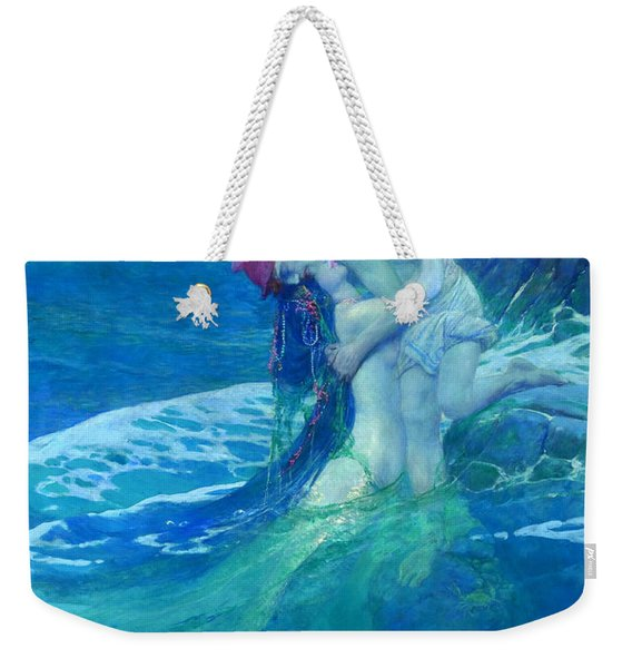 The Mermaid Weekender Tote Bag