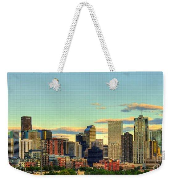 The Mile High City Weekender Tote Bag