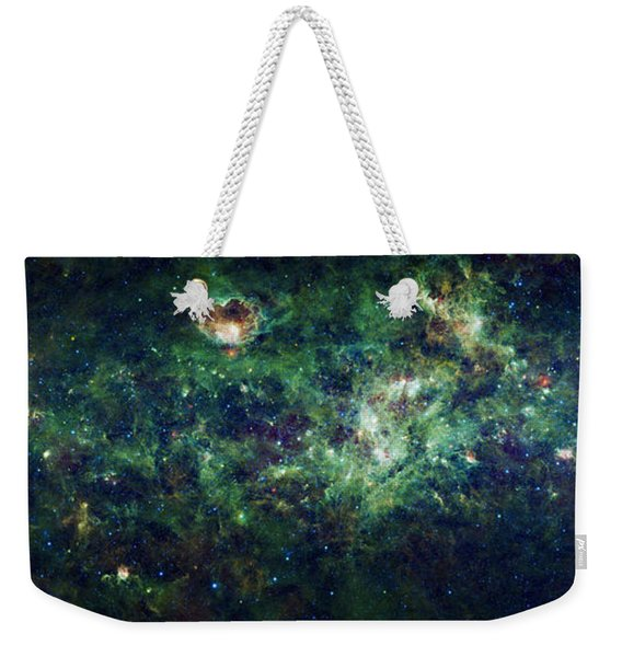 The Milky Way Weekender Tote Bag