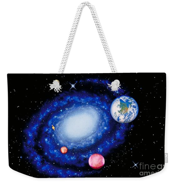 The Milky Way Weekender Tote Bag