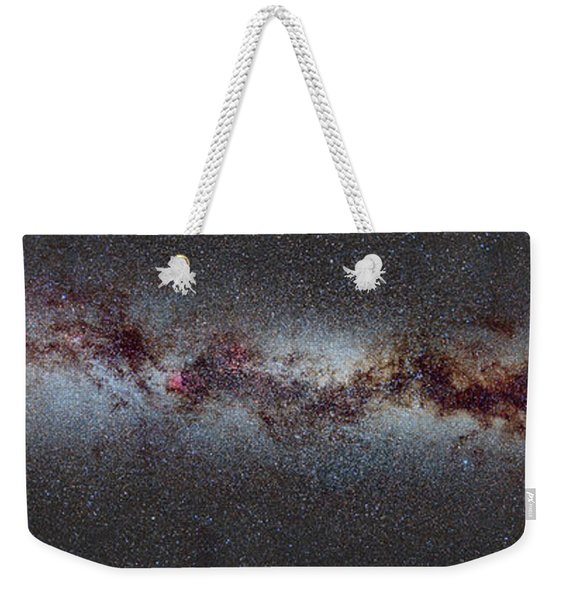 The Milky Way From Scorpio And Antares To Perseus Weekender Tote Bag