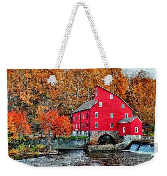 The Mill In Clinton Weekender Tote Bag