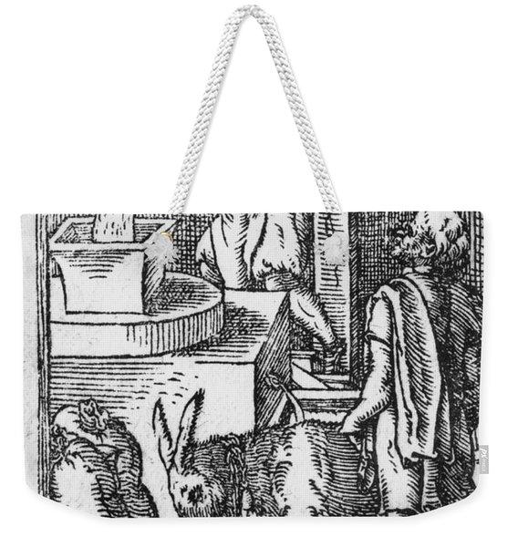 The Miller  Weekender Tote Bag