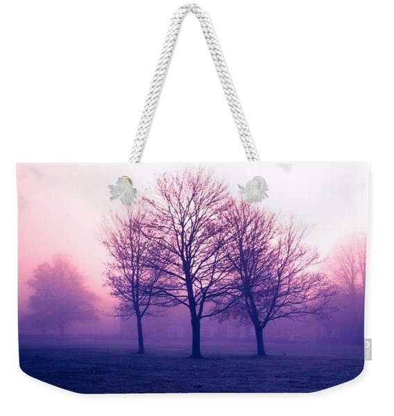 The Mist, England Weekender Tote Bag