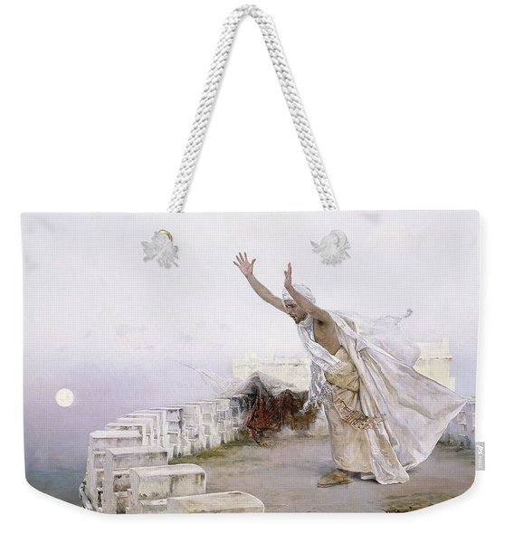 The Morning Prayer Weekender Tote Bag