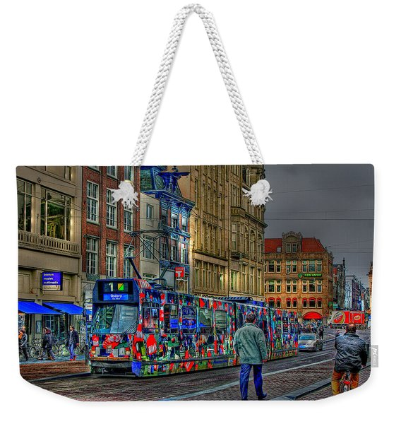 The Morning Rhythm Weekender Tote Bag