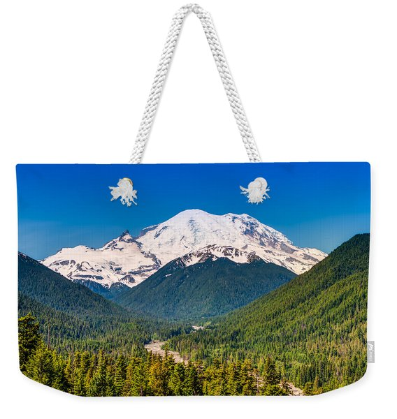 The Mountain And The Valley Weekender Tote Bag