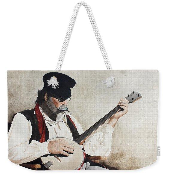 The Music Man Weekender Tote Bag