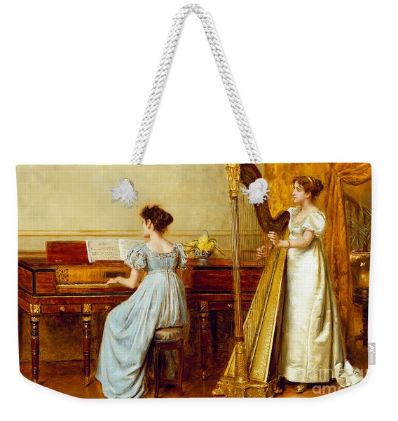 The Music Room Weekender Tote Bag