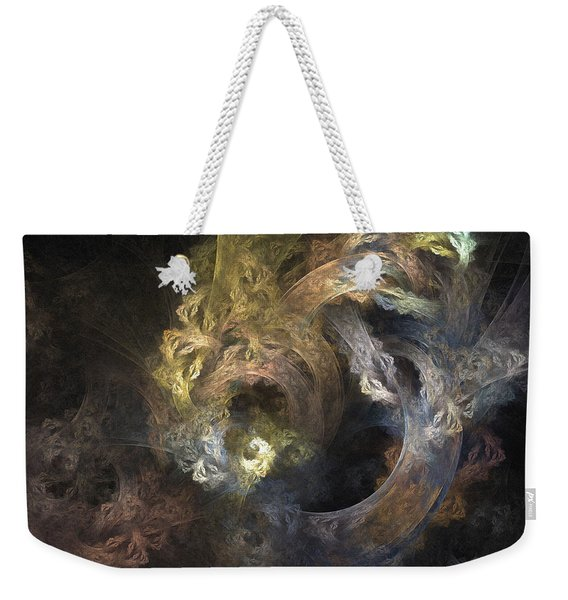 The Mystical Garden - Abstract Art Weekender Tote Bag