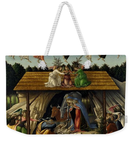 The Mystical Nativity Weekender Tote Bag