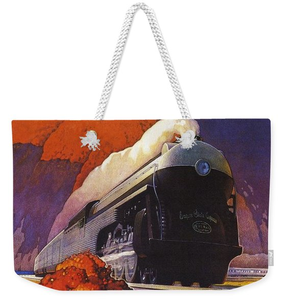 The New Empire State Express Weekender Tote Bag