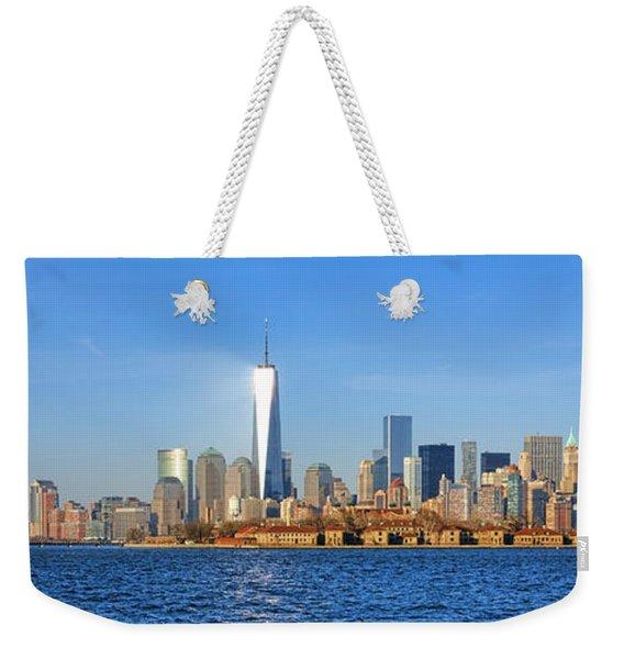 The New Manhattan Weekender Tote Bag