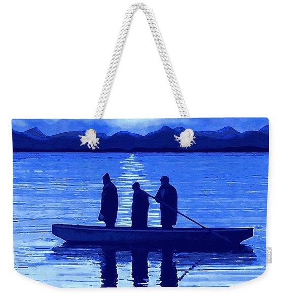 The Night Fishermen Weekender Tote Bag
