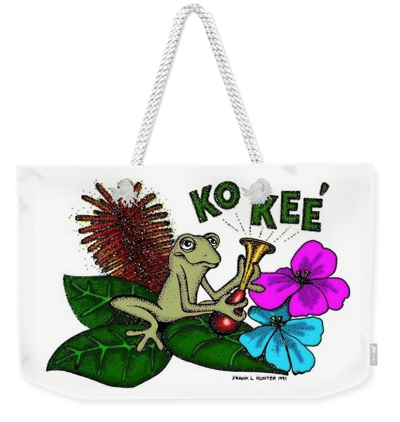 The Night Sound Of Puerto Rico Weekender Tote Bag