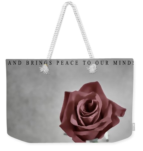 The Notebook Love Quote Weekender Tote Bag