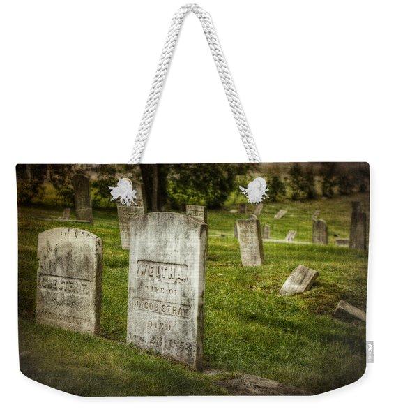 The Old Burial Ground Weekender Tote Bag