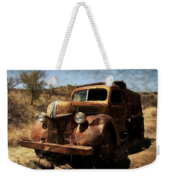 The Old Ford Weekender Tote Bag