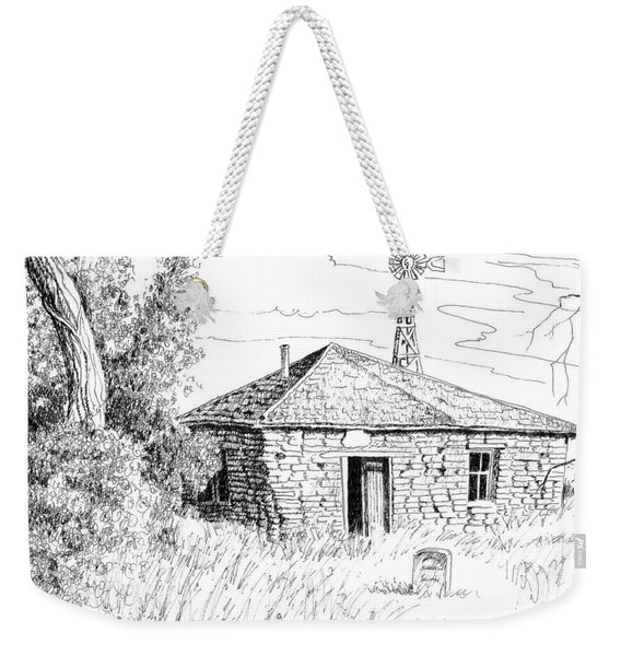 The Old Homestead Weekender Tote Bag