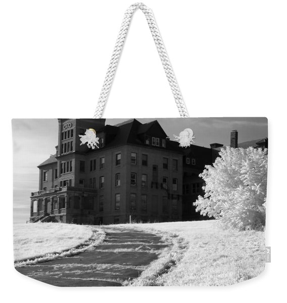 The Old Odd Fellows Home Bw Weekender Tote Bag