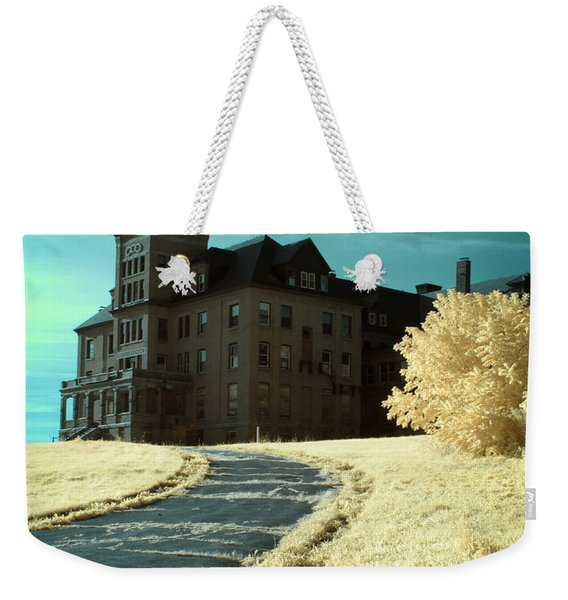 The Old Odd Fellows Home Color Weekender Tote Bag