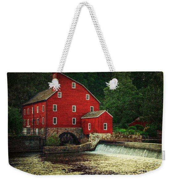 The Old Red Mill Weekender Tote Bag