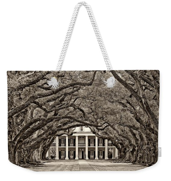The Old South Sepia Weekender Tote Bag