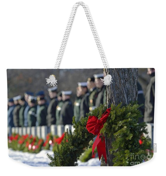 The Old War Section Weekender Tote Bag