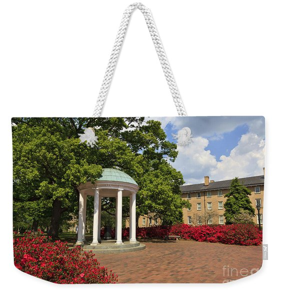 The Old Well At Chapel Hill Campus Weekender Tote Bag