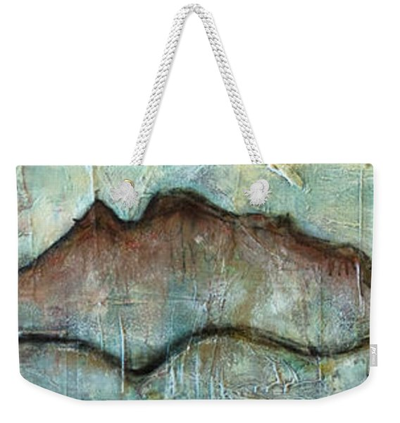 The Only Way Out Is Through Weekender Tote Bag