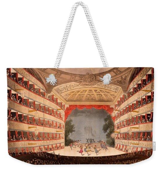 The Opera House, London Weekender Tote Bag