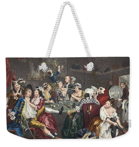 The Orgy, Plate IIi From A Rakes Weekender Tote Bag