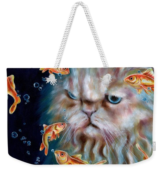 The Other Side Of Midnight Weekender Tote Bag