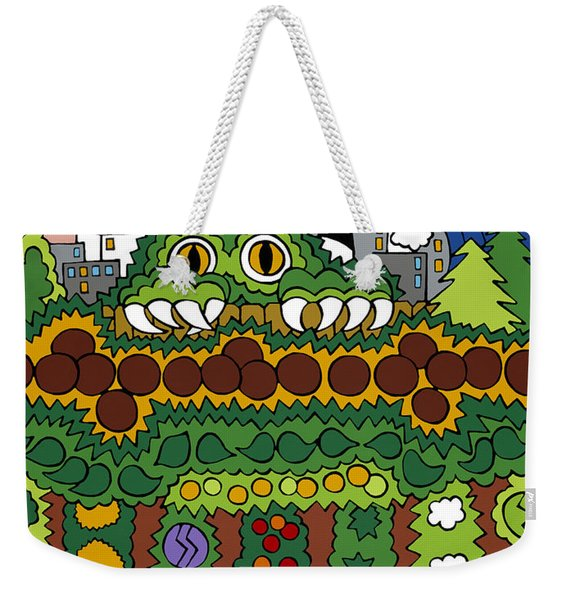 The Other Side Of The Garden  Weekender Tote Bag