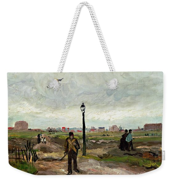 The Outskirts Of Paris Weekender Tote Bag