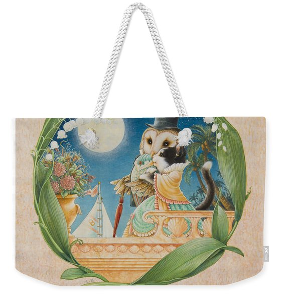 The Owl And The Pussycat Weekender Tote Bag