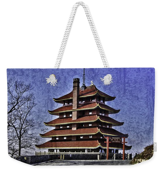 The Pagoda Weekender Tote Bag