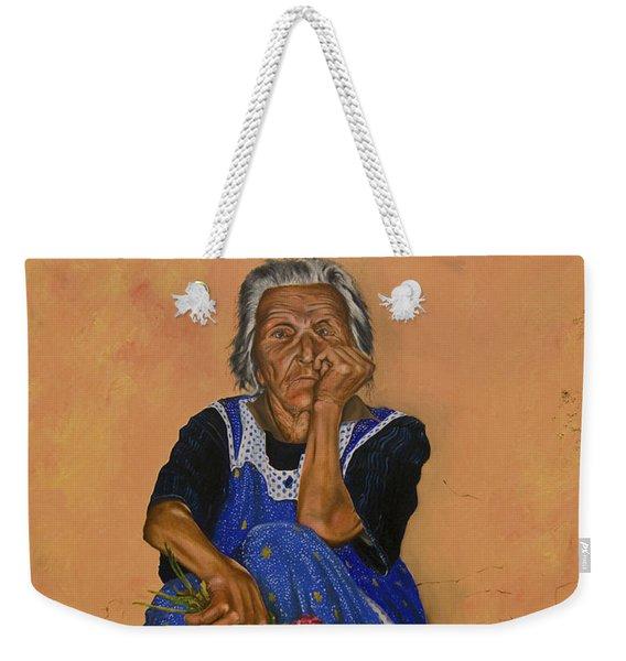 The Parga Flower Seller Weekender Tote Bag