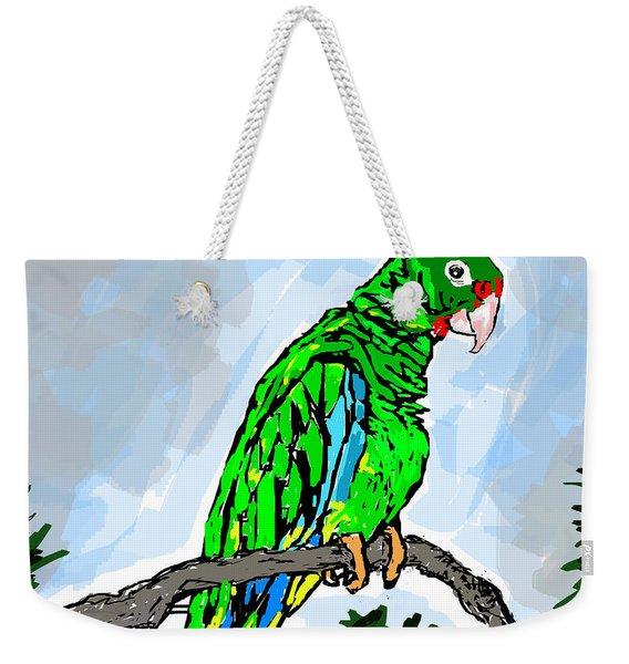 The Parrot Weekender Tote Bag