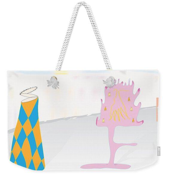 The Partygoers Weekender Tote Bag