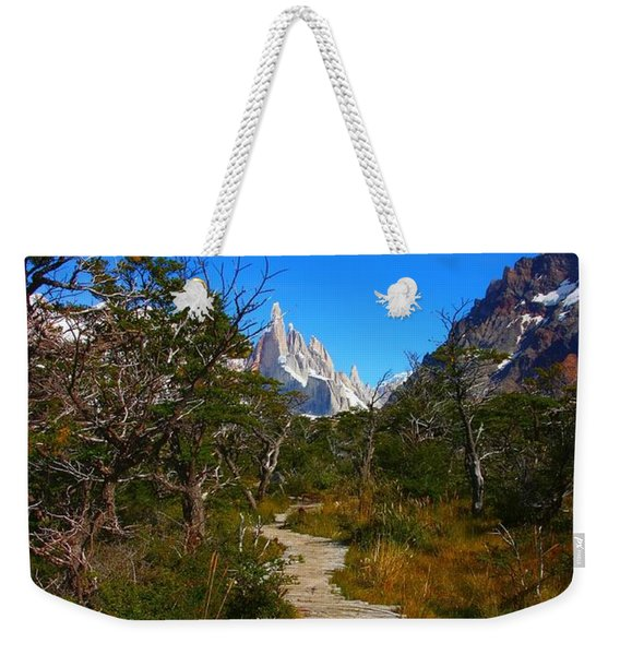 The Path To Mountains Weekender Tote Bag