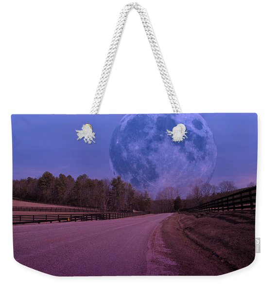 The Peace Moon  Weekender Tote Bag