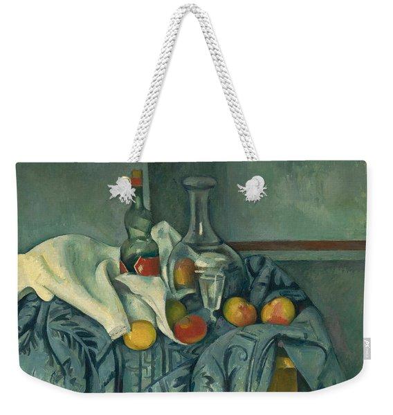 The Peppermint Bottle Weekender Tote Bag