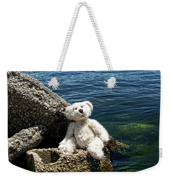 The Philosopher - Teddy Bear Art By William Patrick And Sharon Cummings Weekender Tote Bag